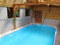 bazén - ubytování Janov nad Nisou