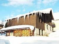 Chata Ondrášek Bedřichov v zimě -