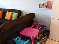 Dětský koutek - chata ubytování Bedřichov