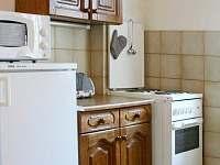 kuchyň v horním patře