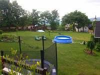 rozhledlý pozemek se sezónním bazénem