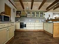 Plně vybavená kuchyně - Ve Stodole