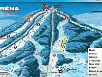 Ski arena Tanvaldský Špičák - Albrechtice v Jizerských horách