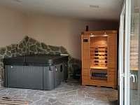 Vířivka a sauna - Albrechtice v Jizerských horách