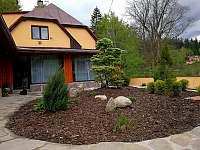 Zahrada / Posezení s grilem - Albrechtice v Jizerských horách