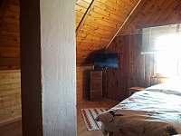 ložnice - pronájem chaty Bedřichov