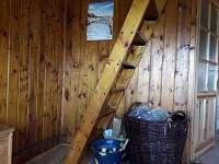 schody do prvního poschodí - Bedřichov