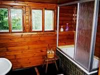 koupelna - chalupa k pronajmutí Příchovice