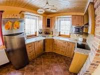 kuchyně - apartmán k pronajmutí Příchovice u Kořenova