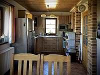 Kuchyně - pronájem apartmánu Příchovice u Kořenova