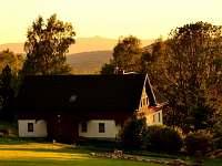 V západu slunce - apartmán k pronájmu Příchovice u Kořenova