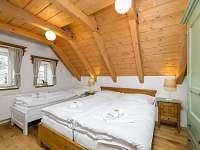 ložnice v apartmánu č. 1