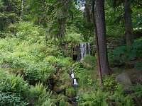 Vodopád - pronájem chaty Albrechtice v Jizerských horách