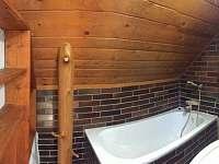 koupelna - chata k pronajmutí Josefův Důl