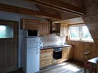 Kuchyň - apartmán k pronajmutí Příchovice