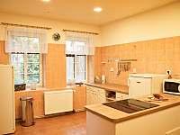 Chata Tereza - kuchyň - ubytování Smržovka