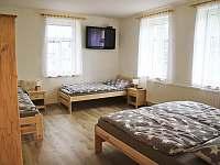 Chata Tereza - pokoj s TV v 1. patře - k pronajmutí Smržovka