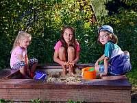 Pronájem chalupy - dětské hřiště Albrechtice v Jizerských horách