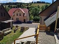 schody - pronájem chaty Bedřichov