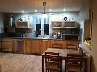kuchyň - pronájem chaty Tanvald