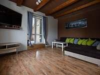 Obývák - chata ubytování Tanvald