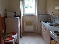 Kuchyň - apartmán k pronajmutí Zlatá Olešnice