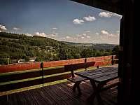 Výhled z terasy - Zlatá Olešnice