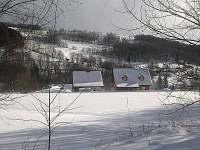 Zimní romantika v Olešnici - chalupa k pronájmu Zlatá Olešnice