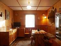 Obývací pokoj - chata k pronajmutí Bedřichov