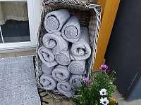 deky na zahřátí na terase - Velké Hamry