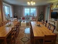 vánoční společenská místnost - Velké Hamry
