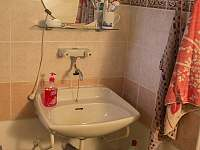 Koupelna_1 - chalupa k pronajmutí Zlatá Olešnice