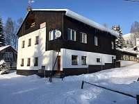 zima 2015 před rekonstrukcí - pronájem chalupy Josefův Důl - Antonínov