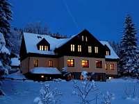 Apartmány v zimě