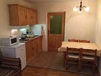 Living room - pronájem apartmánu Hrabětice v Jizerských horách