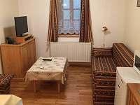 Living room - apartmán k pronájmu Hrabětice v Jizerských horách