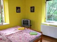 Ložnice v přízemí - chalupa ubytování Jablonné v Podještědí - Pole
