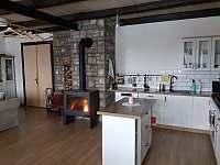 Kuchyň - pronájem chaty Janov nad Nisou