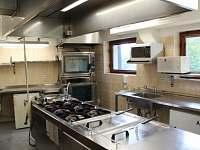 profi vybavená kuchyň - chata k pronajmutí Albrechtice v Jizerských horách