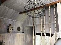 Chata u Jelenů - jídelna - k pronájmu Jiřetín pod Bukovou
