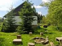 ohniště - chata ubytování Bedřichov