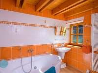 Koupelna na Královce s hydromasážní vanou