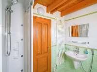 Koupelna na Slovance s masážním sprchovým masážním koutem a WC