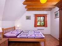 Pokoj Královka - manželská postel