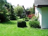 Zahrada - chalupa k pronajmutí Desná