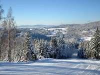 Cesta na vrchol Tanvaldského Špičáku (2km od chalupy)
