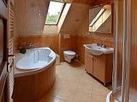 Koupelna v patře - Tanvald