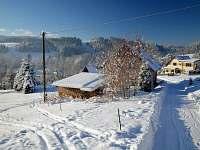V zimě doporučujeme sněhové řetězy.