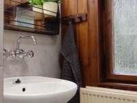 malá koupelna - Černá Říčka