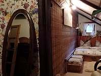 pokoj č.3, dvoulůžkový - chalupa k pronájmu Černá Říčka